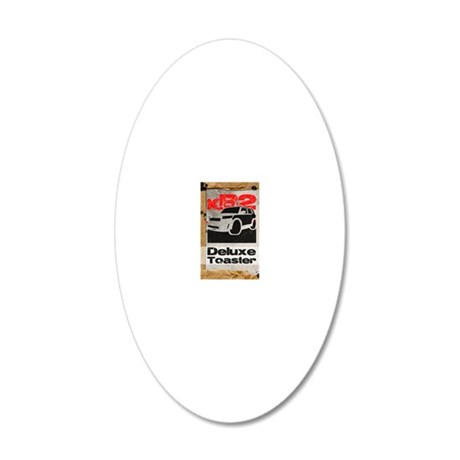 xb2-journalsize2 20x12 Oval Wall Decal