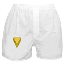 Big Cheese White Boxer Shorts