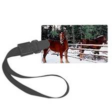 Horses Luggage Tag