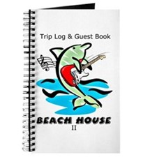 Beach House Trip Log and Guest Book