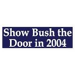 Show Bush the Door in 2004 (car sticker)