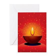 Diwali Festival of Lights Greeting Card