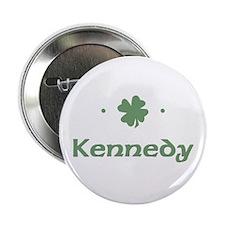 """Shamrock - Kennedy"" Button"