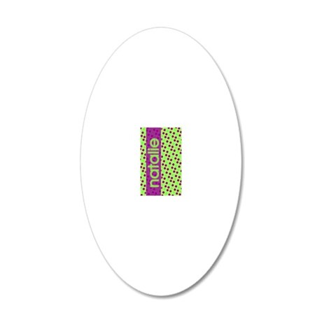 Natalie_iPhone4 20x12 Oval Wall Decal