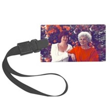 Tracy and Mom Luggage Tag