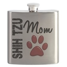 D Shih Tzu Mom 2 Flask