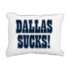 Dallas-Sucks-08 Rectangular Canvas Pillow