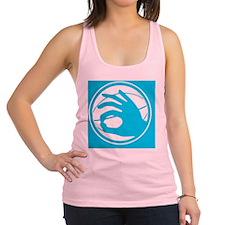 tshirt designs 0702 Racerback Tank Top