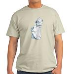 West Highland White Terrier Westie Light T-Shirt