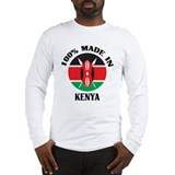 Made In Kenya Long Sleeve T-Shirt
