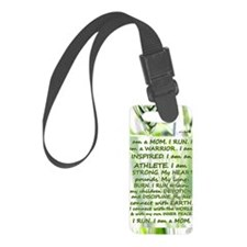 water_bottle_runner Luggage Tag