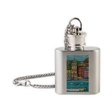 Vernazza-HSPropicAR Flask Necklace