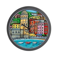 Vernazza-HSPropicAR Wall Clock