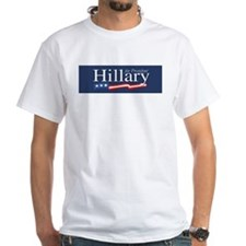 Hillary for President Poster White T-shirt