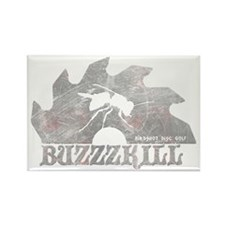 Buzzzkill - Disc Golf - Birdshot  Rectangle Magnet