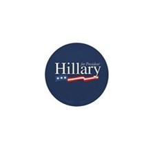Hillary for President Poster Mini Button (10 pack)