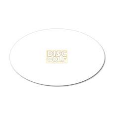Star Wars - Disc Golf - Bird 20x12 Oval Wall Decal