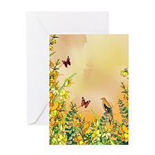 yellowflipflop Greeting Card