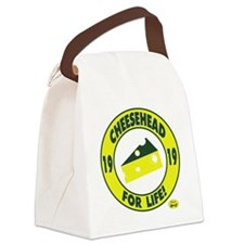 cheeseheadforlife1919 Canvas Lunch Bag