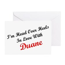 In Love with Duane Greeting Cards (Pk of 10)