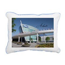 Atlanta_5x3rect_sticker_ Rectangular Canvas Pillow