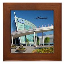 Atlanta_4.25x4.25_Tile Coaster_Georgia Framed Tile