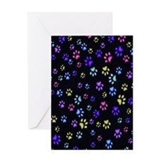 Catty Paws copy Greeting Card