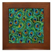 Feathers Framed Tile