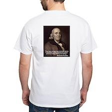 """Ben Franklin """"Essential Liberty"""" Shirt"""