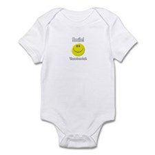 smile! there is no hell.  Infant Bodysuit