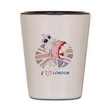 Queen Elizabeth Mug-London Shot Glass