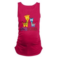 GiraffeLittleBrotherV2 Maternity Tank Top