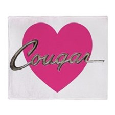 cougar.gif Throw Blanket