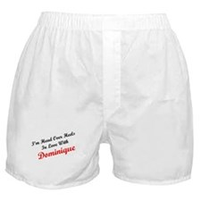 In Love with Dominique Boxer Shorts