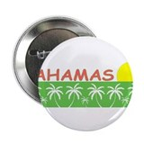 "Cute Bahama islands 2.25"" Button (100 pack)"