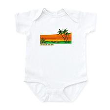 Cute Vintage bahamas Onesie
