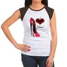 love red stiletto and h Tee