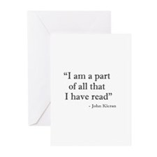 I am a part... Greeting Cards (Pk of 10)