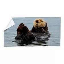 385x245_wallpeel_otter_2 Beach Towel