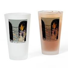 3959_kosher_cartoon Drinking Glass