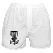 Sticker - Disc Golf Catcher Black Boxer Shorts