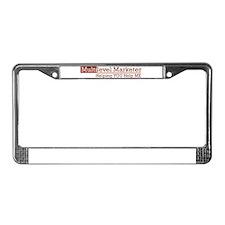 Multi-Level Marketing License Plate Frame