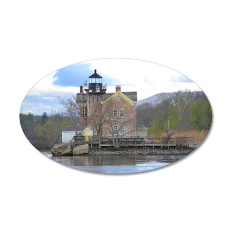 Saugerties New York 35x21 Oval Wall Decal