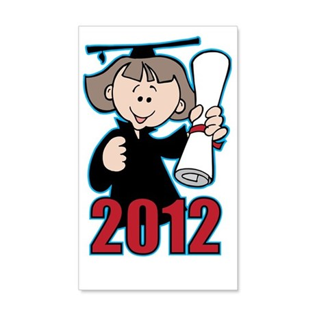 GradGirl2012 20x12 Wall Decal