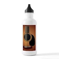 acousticguitar-sunburs Water Bottle