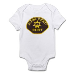 Alpine County Sheriff Infant Bodysuit