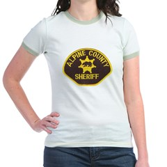 Alpine County Sheriff Jr. Ringer T-Shirt