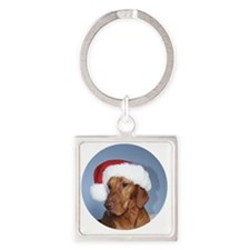 Ornament_Round_Rogan_1 Square Keychain