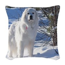 cub_12_11 Woven Throw Pillow