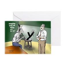 Pi_79 Interrogation (10x10 Color) Greeting Card